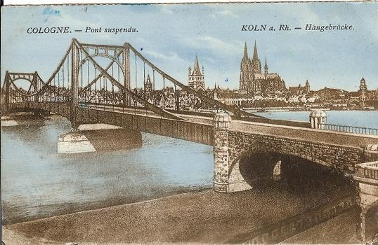 Deutzer Hängebrücke
