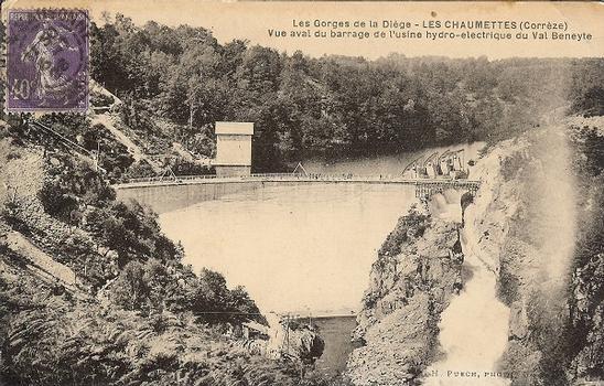 Barrage des Chaumettes