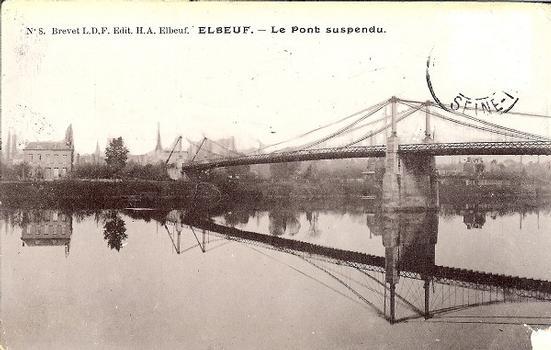 Pont suspendu d'Elbeuf