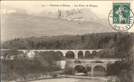 Viaduc ferroviaire de Pont de Brogny