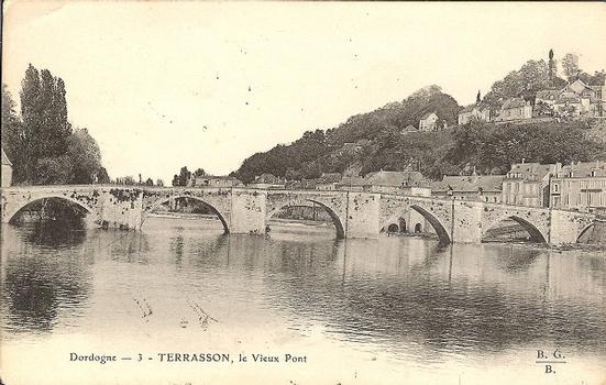 Alte Vézèrebrücke Terrasson-la-Villedieu