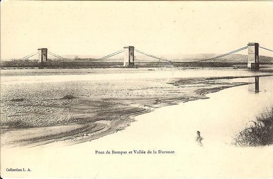 Pont suspendu de Bonpas