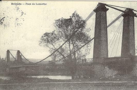 Hängebrücke Lamothe