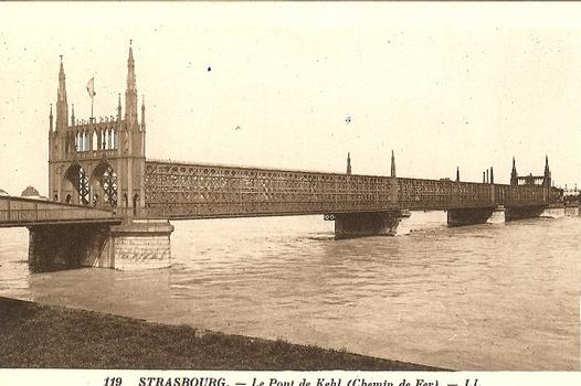 Pont-rail de Strasbourg-Kehl