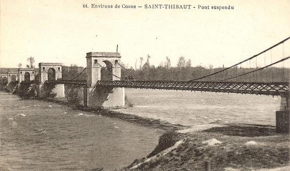 Hängebrücke Saint-Thibault