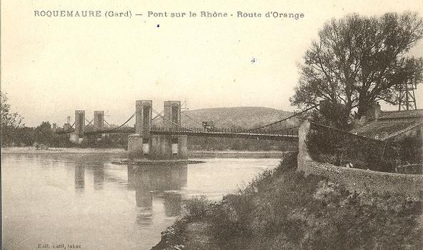 Pont suspendu de Roquemaure