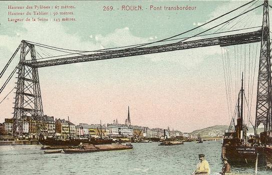 Pont transbordeur de Rouen