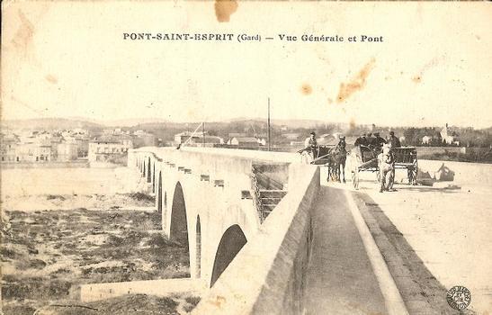 Rhonebrücke Pont-Saint-Esprit