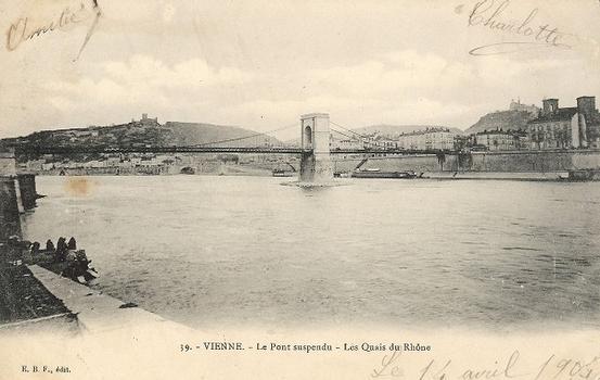 Passerelle suspendue de Vienne