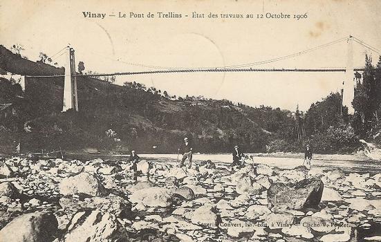 Pont suspendu de Trellins
