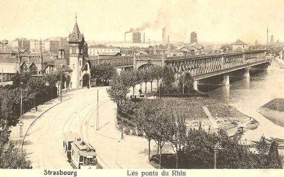 Pont-route de Strasbourg-Kehl