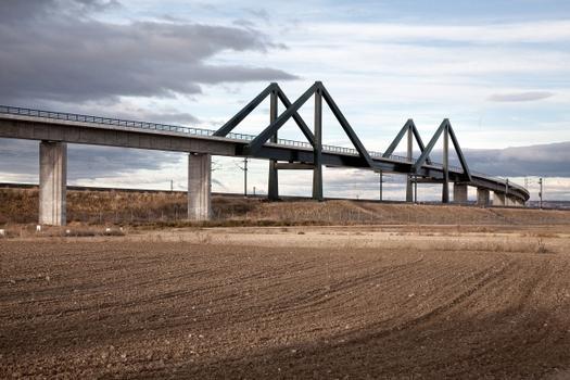 Viaduc de jonction ferroviaire de Torrejón de Velasco