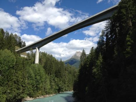 Innbrücke Vulpera/Tarasp