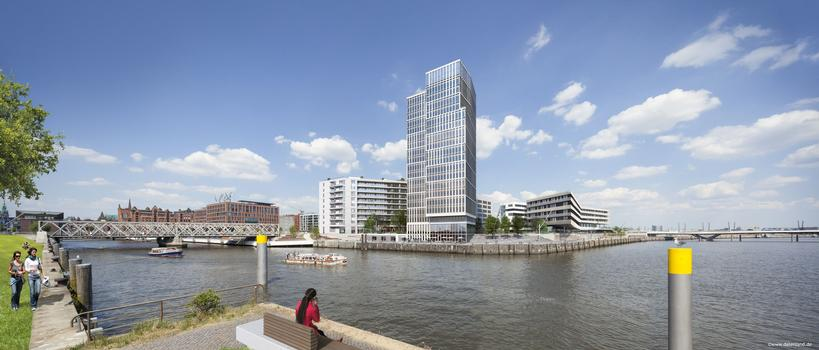 Panorama of the new HafenCity quarter in Hamburg (image by Datenland)