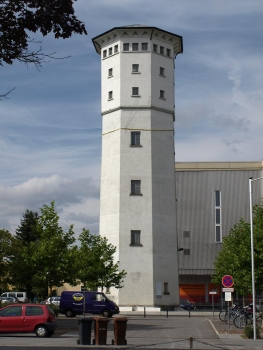 Water tower in Radolfzell