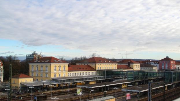 Gare centrale de Ratisbonne