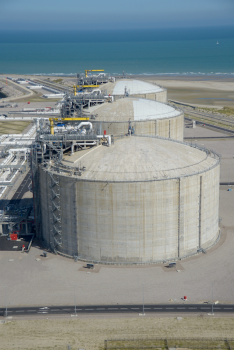 Loon-Plage LNG Reservoirs