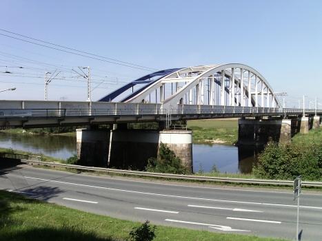 Eisenbahnbrücke Riesa