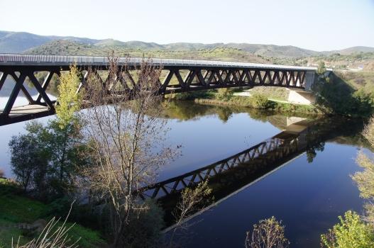 Ponte internacional sobre o Rio Águeda
