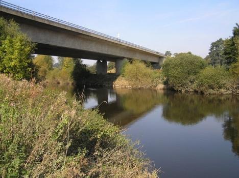 A5 Shrewsbury Bypass Bridge