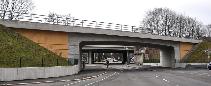 Passage ferroviaire sur la Rubensstrasse