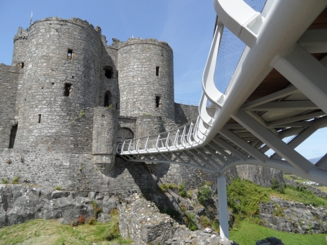 Harlech Castle Footbridge