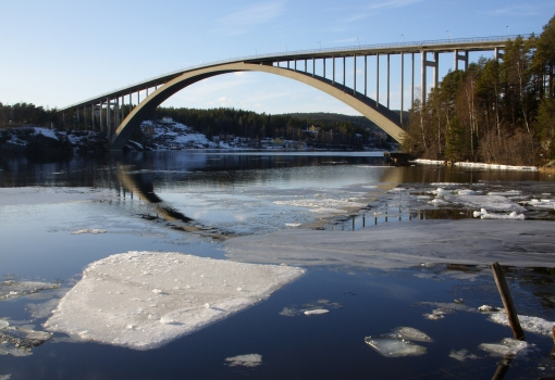 Sandö-Brücke