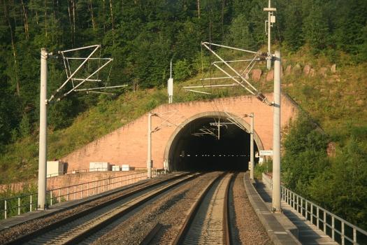 North portal to the Schönrain Tunnel
