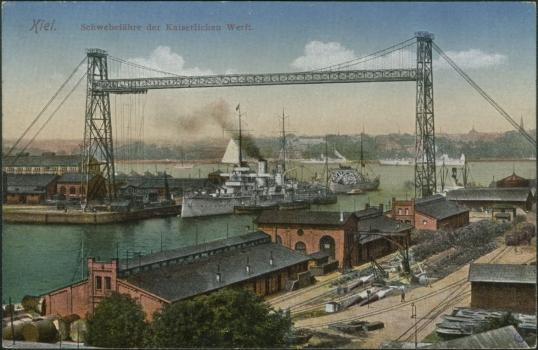 Pont transbordeur de Kiel