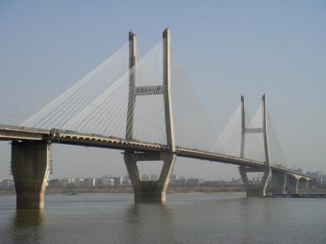 Zweite Jangtsebrücke Wuhan