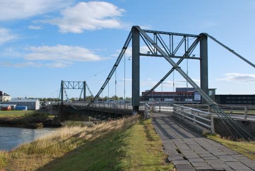 Hängebrücke Selfoss