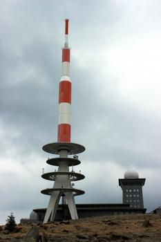 Neuer Sendeturm auf dem Brocken
