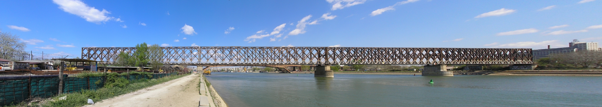 Old Sava River Rail Bridge