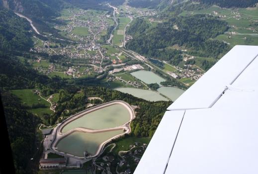 Luftaufnahme aus ca. 1800m Höhe der Vorarlberger Illwerke mit den Staubecken Latschau in Tschagguns und der drei Staubecken in Rodund in Vandans. : Luftaufnahme aus ca. 1800m Höhe der Vorarlberger Illwerke mit den Staubecken Latschau in Tschagguns und der drei Staubecken in Rodund in Vandans.