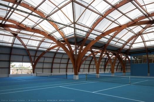 Tennishallen Bourg-la-Reine