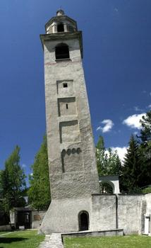 Leaning Tower of Sankt Moritz