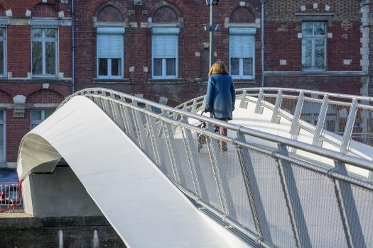 Geh- und Radwegbrücke Saint-Omer