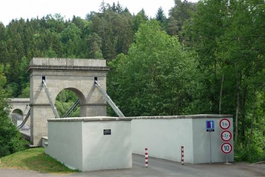 Kettenbrücke Stádlec