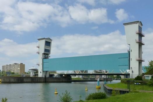 Barrière anti-inondation de l'Yssel hollandais