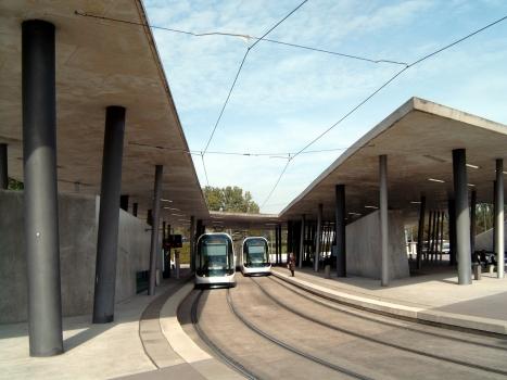Terminus Multimodal Hoenheim-Nord