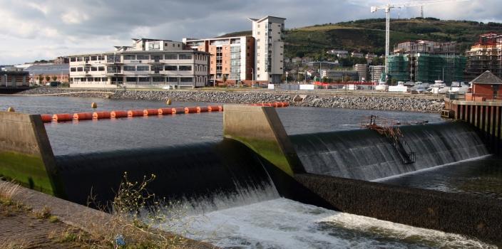 Swansea Bay Barrage