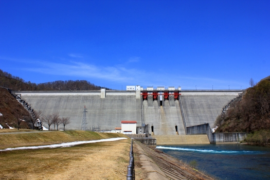 Barrage de Tamagawa (Akita)
