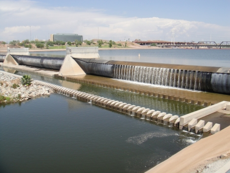 Tempe Town Lake Inflatable Dam