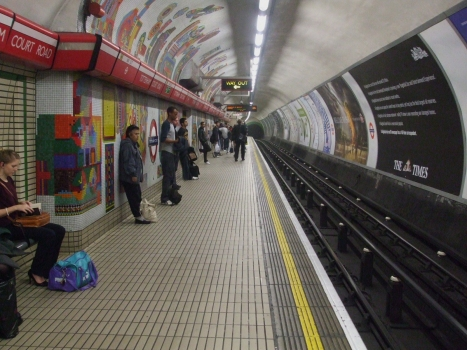 Tottenham Court Road Underground Station