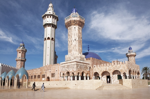 Grosse Moschee in Touba