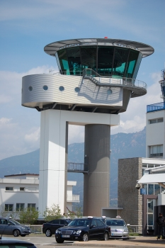 Ajaccio Airport Control Tower