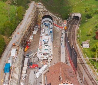Tunnel ferroviaire du Bözberg