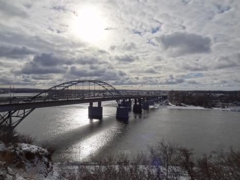 Pont sur le Belaïa d'Oufa