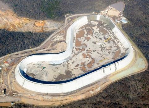 Taum Sauk Upper Reservoir Dam