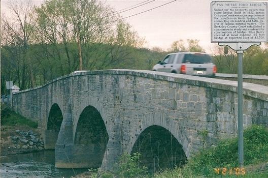 Van Metre Ford Stone Bridge